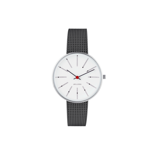 Arne Jacobsen Bankers Ur 34 mm 53101-1612