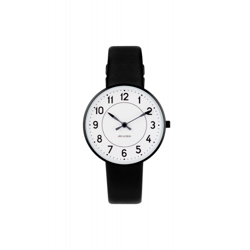 Arne Jacobsen Station Ur 34 mm 53411-1601B
