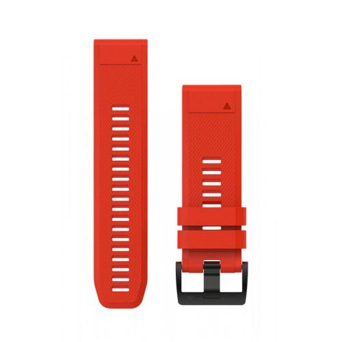 Garmin QuickFit 26 mm Silikone Urrem Rød