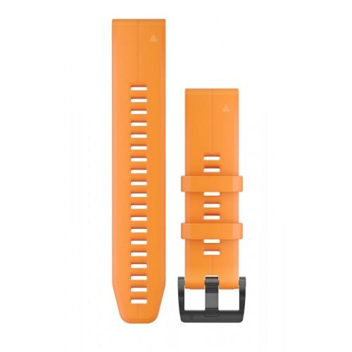 Garmin QuickFit 22 mm Silikone Urrem Orange