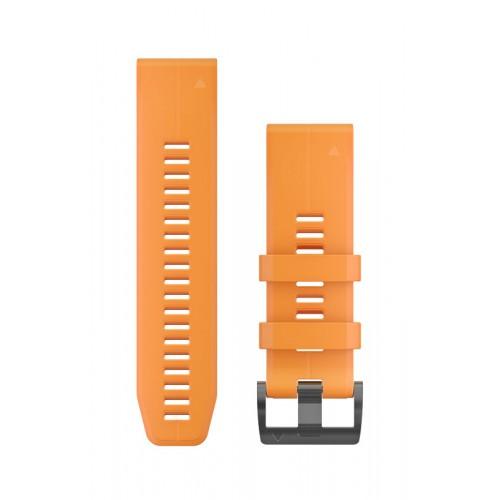 Garmin QuickFit 26 mm Silikone Urrem Orange