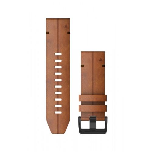 Garmin QuickFit 26 mm Læder Urrem