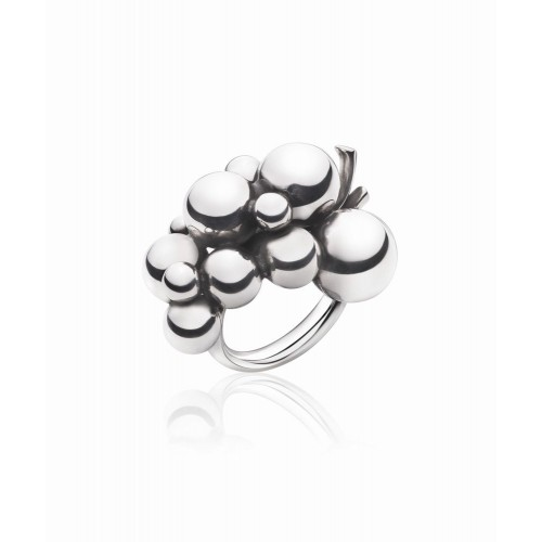 Georg Jensen Moonlight Grapes Stor Ring 20000...
