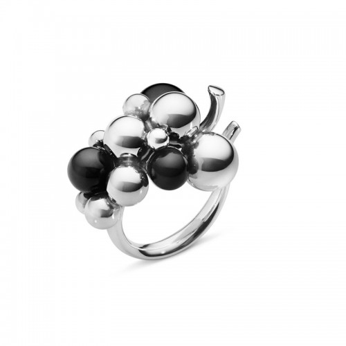 Georg Jensen Moonlight Grapes Medium Ring 100...