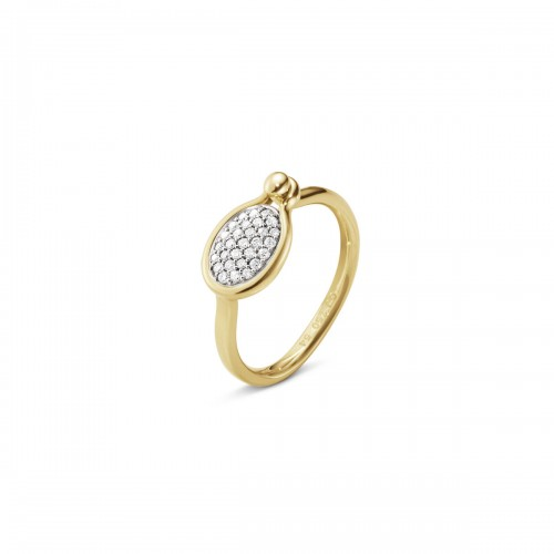 Georg Jensen Savannah Ring Diamanter Lille 10012697