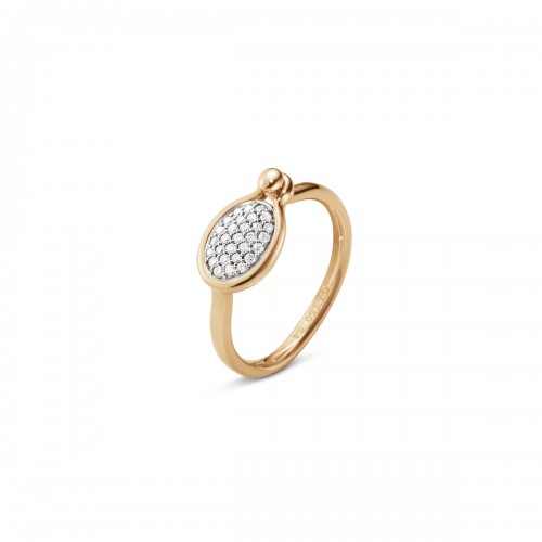 Georg Jensen Savannah Ring Diamanter Lille 10012711