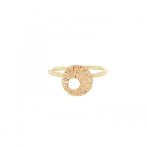 Heiring Dreamcatcher Ring Mini Forgyldt 51-4-...