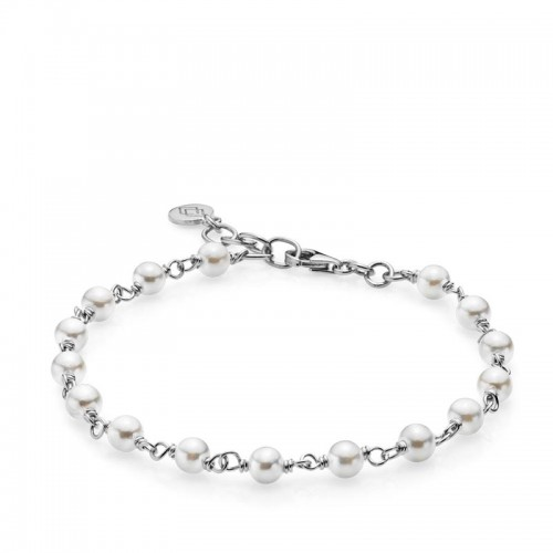 Izabel Camille Miss Pearl Armbånd a3112swswh...