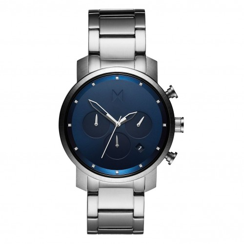 MVMT Chrono 40 Navy Silver D-MC02-SBLU