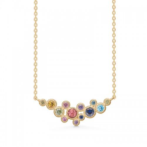 Mads Z Luxury Rainbow Halskæde 1524062