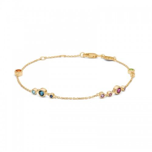 Mads Z Luxury Rainbow Armbånd 1554062