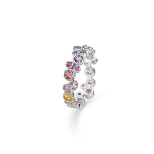 Mads Z Luxury Rainbow Ring 1644062