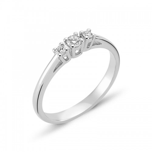Nuran Diamond Dreams Ring Hvidguld