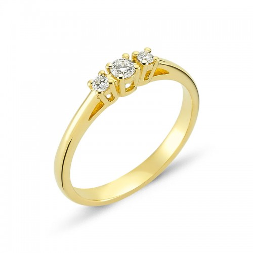 Nuran Diamond Dreams Ring Guld